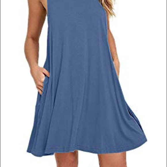 """561bf93252ad Auselily Dresses & Skirts - AUSELILY """"MOST COMFY"""" Swing Tank Dress Pockets  XXL"""